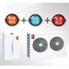 北极星 分体式风冷冷热水机组 多功能热泵地暖空调