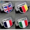 求购德国英国意大利法国国旗改装汽车标牌 铭牌 车标