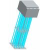明渠垂直式紫外线消毒设备 金川紫外线消毒设备