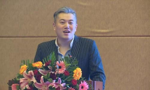 刘禹在中国首家集成建筑国际贸易交易展示中心交流大会暨第四届中国绿色建筑节能门窗幕墙高峰论坛上发言