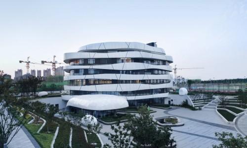 亚洲最大的被动节能建筑设计!青岛西门子创新中心(中德生态园)