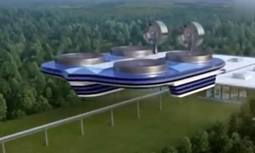 """俄罗斯造""""飞行高铁""""设计时速600公里载4000人,能挑战中国的高铁吗?"""