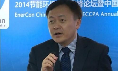 丹佛斯中国有限公司副总裁车巍在《清洁生产:防污治霾技术分会》上演讲