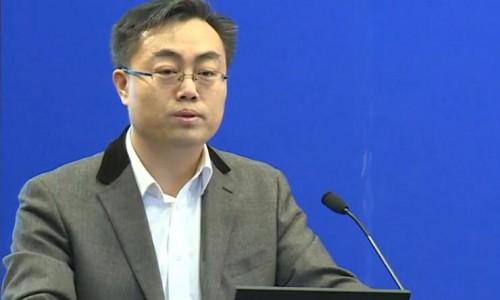 北京市科学技术委员会许心超处长在中美清洁交通政策与技术高峰论坛发言