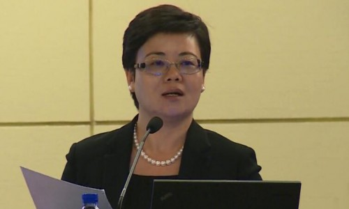 广发银行北京分行钱朝辉副行长在北京市节能环保企业家高峰论坛的发言