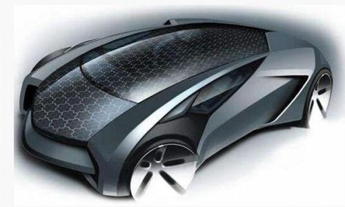 薄膜太阳能车顶随时充电,或告别充电桩