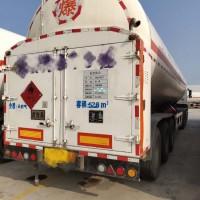 出售二手液化天然气储存槽车 安瑞科液化天然气运输车