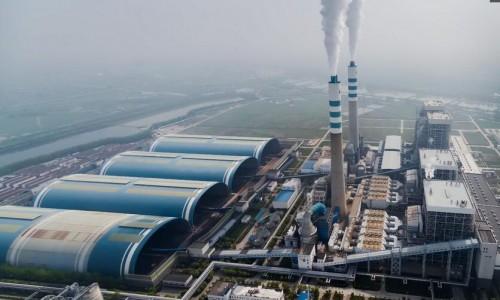 国家煤电节能减排示范电站,国电泰州发电有限公司坐落于长江之畔