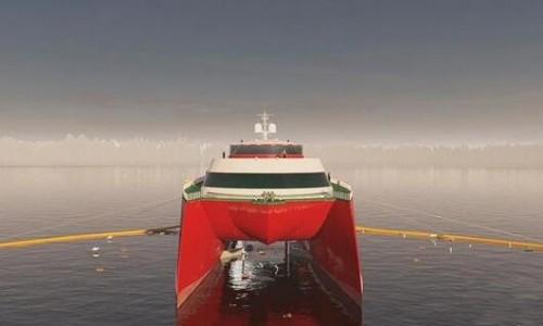 """世界首艘""""吃塑料""""清洁船将问世 40年内吃遍太平洋垃圾"""