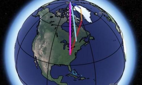 最新研究发现气候变化正在加剧地球自转过程中的摇晃程度