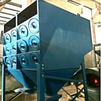 铁合金厂铝厂烟尘净化滤筒除尘器脉冲滤筒除尘器厂家实恒除尘