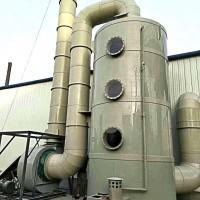 沧州市PP脱硫脱硝塔喷淋塔废气处理塔制造厂家实恒除尘