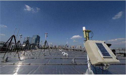 沈阳首个大气复合污染立体监测超级站投入使用