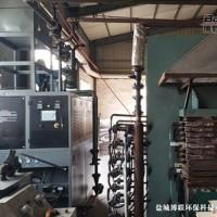 琅特燃气模温机在赣州南康板材热压机上的应用