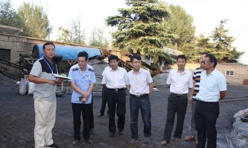 开封市领导率队暗访大气污染防治攻坚工作