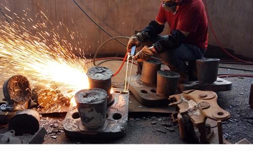 铸造业使用天然气增效进行铸件切割可有效降低企业燃气成本