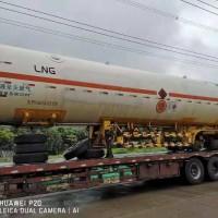10年广东建成52立方LNG槽车尾 LNG低温储罐