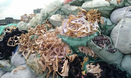 浙江皮革、布类、织物边角料破碎处置生产线利用