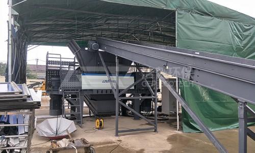 大件垃圾破碎机处置生产线将落户上海闵行区