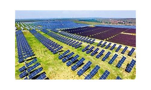张家口张北县100兆瓦光伏发电项目投运