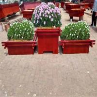 沧州防腐木花箱厂家——户外景观花箱|绿化种植木质花盆