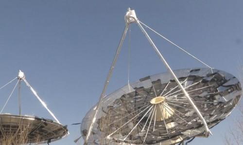 绿色发展!全国首个碟式太阳能供热项目落地鄂尔多斯!