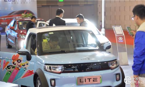 第六届中国国际节能与新能源汽车展览会在宁开幕
