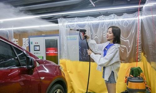 传统洗车面临重新洗牌,水润环保清洁机将成爆款