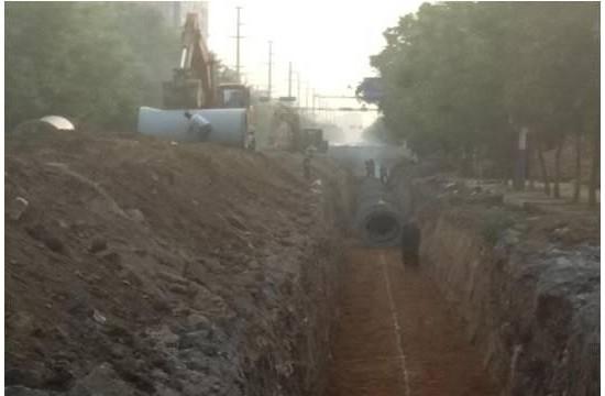 重点流域水污染防治项目网上公开巡查:河北省巨鹿县污水管网新建项目进展情况