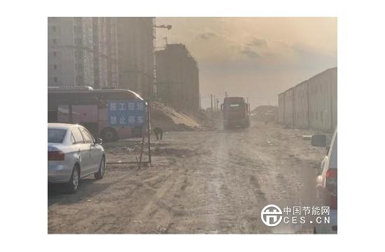 黑龙江持续开展扬尘专项执法检查 8处建筑工地4处点位存在扬尘污染