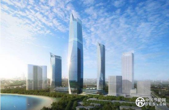 最节能地标!山东第一高楼选用海尔磁悬浮空调