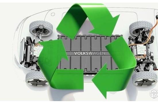 """大众说""""电动车比柴油车更环保"""" 还说要开始回收电池了"""