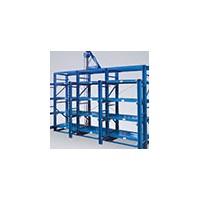 易达广州仓储货架厂供应三立柱模具货架 抽屉式模具架