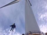全球最长新型聚氨酯风电叶片完成交付