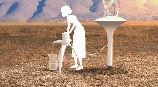 从空气中生产水