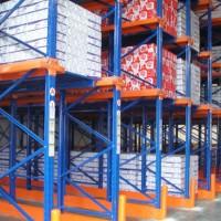 易达广州冷库专用货架 叉车作业高密度储存冷库食品货架