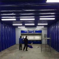 临沂工业喷漆专用伸缩移动喷漆房价格