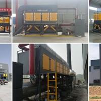 催化燃烧设备技术参数技术原理,催化燃烧环保设备加工生产厂家