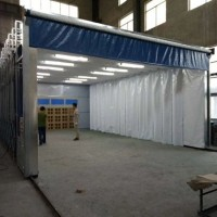 江西伸缩房新型系列大全移动喷漆房设计安装方案