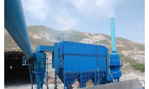 山西临汾石灰窑布袋除尘器工作原理及厂家生产安装案例
