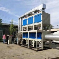 活性炭吸附催化燃烧设备维护简单,净化效率高