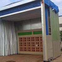 环保移动伸缩喷漆房设计方案