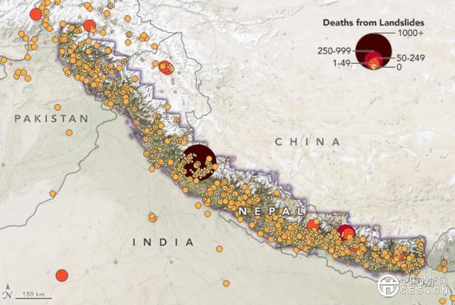 美国宇航局:气候变化可能引发亚洲高山地区更多山体滑坡