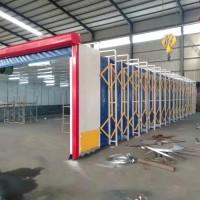 移动伸缩喷漆房无尘环保净化效率高