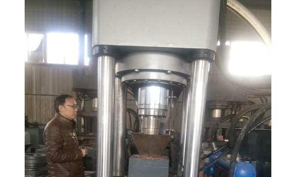 Y山东高端技术自动铜屑压块机成型密度均匀性