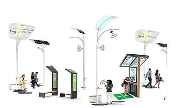 2020-2024年,全球智慧灯杆市场规模将增长79.7亿美元