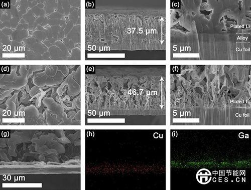 储能 高能量密度无负极锂金属电池研究进展