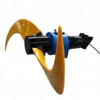 QJB1400型-新蓝深潜水低速推流器-液下潜水推流器