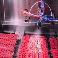 硅胶按键往复喷涂机 塑胶按键喷涂往复机