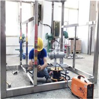 工业氢涡轮发电机冷却装置